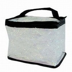 Clear Totes Train Case 7-1/2