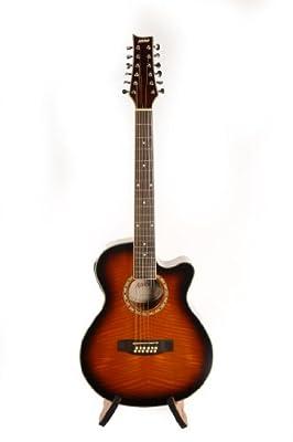 Ashton Sl29ceq 12 String Slim Line Electro Acoustic Guitar