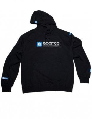 sparco-sp03100nr2m-www-medium-black-hooded-sweatshirt