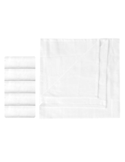 5 Pack Pure Cotton Muslin Cloths