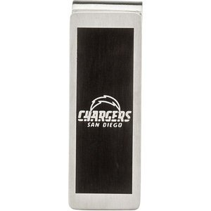San Diego Chargers Logo Stainless Steel Money Clip at Amazon.com