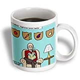 Bill Felkman Vegetarian Safari Hunter - 11oz Mug