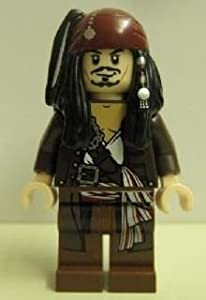 LEGO Pirates of the Caribbean: Captain Jack Sparrow (Jacket) Minifigure