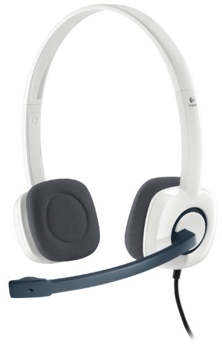 Logitech Stereo Headset H150 - (981-000349) Cloud White - Manufacturer Refurbished