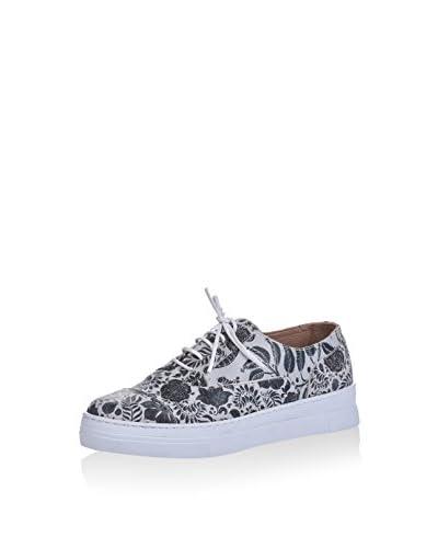 Los Ojo Sneaker Fenc hellgrau/schwarz