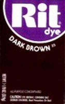 Rit Dye 32 g Dark Brown Powder (6-Pack)