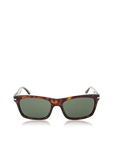 Persol Rectangular Sunglasses, Havana