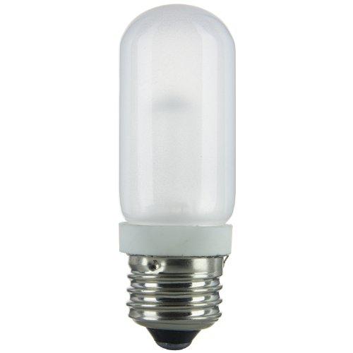 Sunlite 03035-SU 100T10/HAL/FR 100-watt Halogen Double Envelope T10 Bulb, Frost