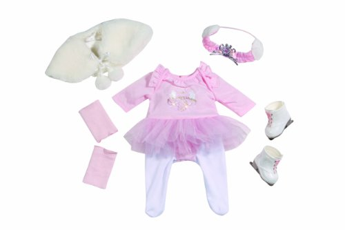 Baby Born Deluxe Ice Skating Princess Outfit