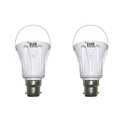 Imperial 6W-CW-BC22-3560-2 Pin LED Bulb (White, Pack Of 2)