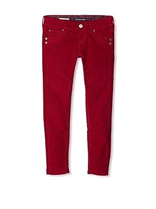 Pepe Jeans London Pantalón Franny (Granate)