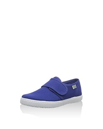 Natural World Zapatillas de estar por casa Blucher Velcro