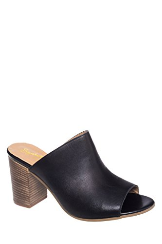 Take Aim Peep Toe Mule