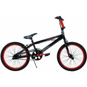 Huffy 20-Inch BMX Boys Beserk Bike (Gloss Black Despair/Copper)