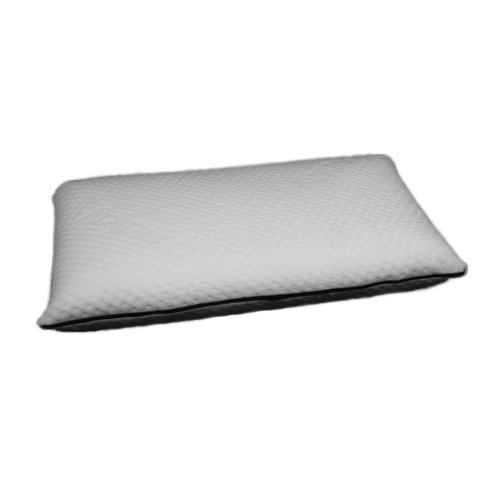 Duvalay Luxury Memory Foam Conventional Pillow, 62 x 38 x 10 cm, White