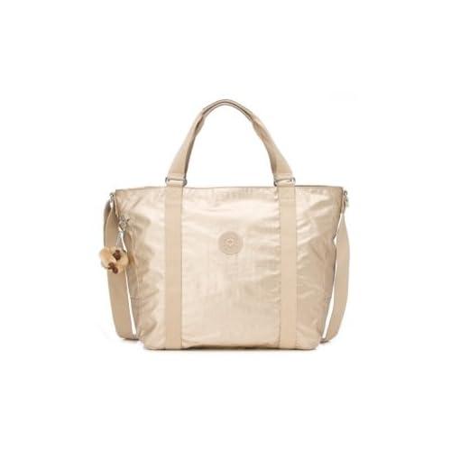 Amazon.com: Kipling Adara Medium Tote Bag in Toasty Gold