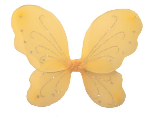 WeGlow International Butterfly Wings - Peach (Pack of 2 Wing Sets) - 1