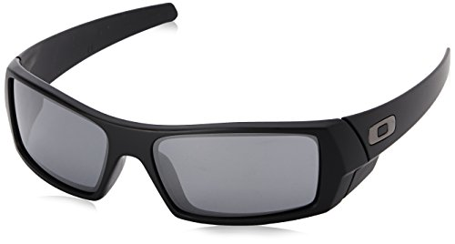 Oakley Men's Gascan Rectangular Eyeglasses,Matte Black,61 mm