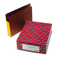 * 3 1/2 Inch Accordion Expansion File PocketsStraight Tab, Letter, Yello