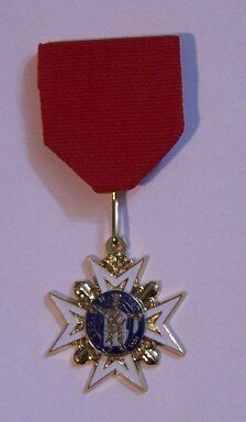 France French Order Church Catholic Saint King Louis Legion Medal Award Royal Orden