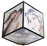 6 Sided Photo frame Awesome Customized Gift Magic Rotating (Full)