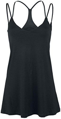 Outer Vision Pekin Top donna nero XS