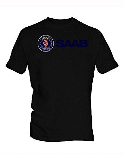 saab-logo-4-hommes-black-t-shirt