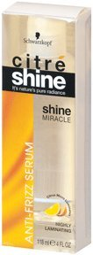Citre Shine Miracle Anti-frizz Serum, 4-Ounce (Pack of 2)