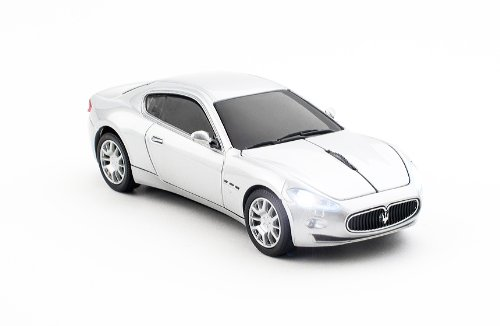 click-car-ccm660097-maserati-gran-turismo-wireless-optical-mouse-silver