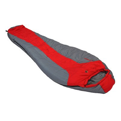 Ledge Sports FeatherLite +20 F Degree Ultra Light Design, Ultra Compact Sleeping Bag (84 X 32 X 20, Red)