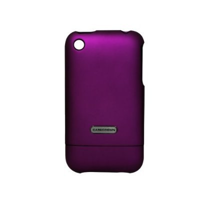 CaseCrown iPhone 3G and 3GS Polycarbonate Glider Slim-Fit Case (Purple Amethyst)