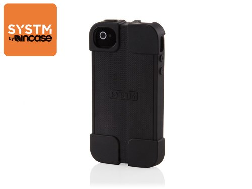 (システムバイインケース)SYSTM by INCASE HAMMER BLACK IPHONE44S 10010 (iphone4&4S用, HAMMER(BLACK))