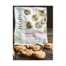 Ginny Bakes Organic Chocolate Chip Oatmeal Mini Cookie, 1.25 Ounce -- 36 per case. (Ginny Bakes Cookies compare prices)