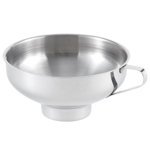 HIC 18/8 Stainless Steel Canning Funnel, 5.5-Inch Diameter (Wide Mouth Canning Funnel compare prices)