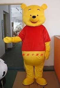 New Winnie the Pooh Bear Mascot Costume Adult Size