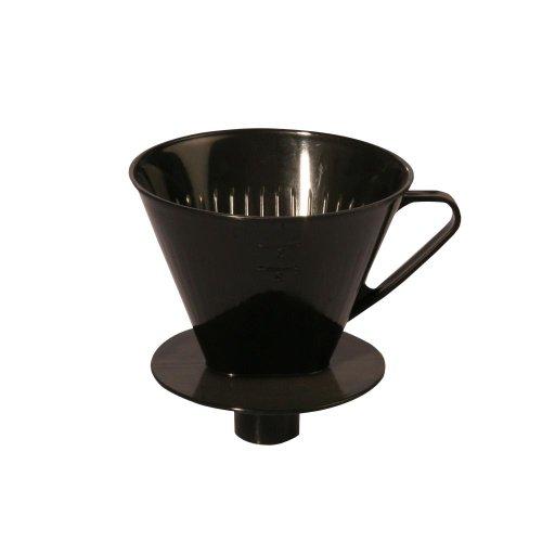 AXENTIA Kaffeefilter mit Stutzen für 4 Tassen,...