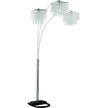 Coaster 901484 Traditional Lamp, Chrome