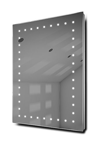 Inca Ultra-Slim Led Bathroom Illuminated Mirror With Demister Pad & Sensor K166