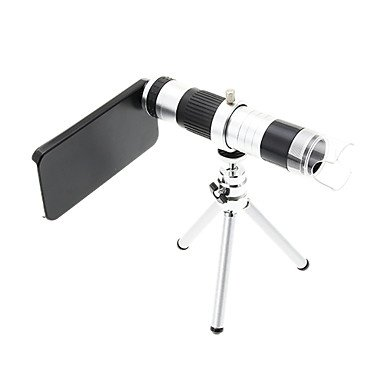 16X Telephoto Metal And 220X Microscope Cellphone Lens With Tripod For Iphone 5S
