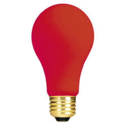 Bulbrite 106740 40W Ceramic Red A19 Bulb (25 Watt 120v Type R compare prices)