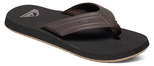 Quiksilver Quiksilver Herren Monkey Wrench Sandals - Scarpe da Spiaggia e Piscina Uomo, Nero (Brown/Black/Brown XCKC), 40 EU