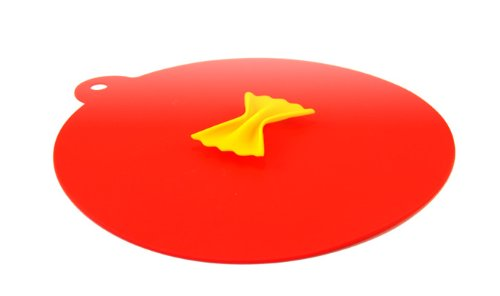Couvercle Standard Silicone Rouge Design Farfale 260mm