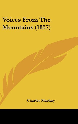 Voices from the Mountains (1857)