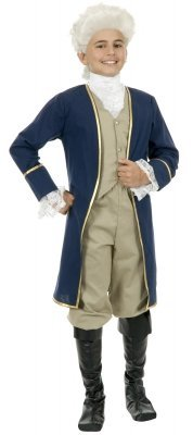 George Washington Child Costume Size Small (6-8)