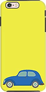 DailyObjects Vintage Car Bright Yellow Tough Case For iPhone 6s Plus