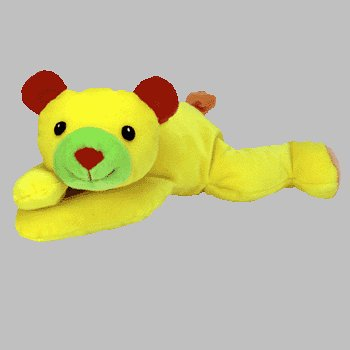 TY Pillow Pal - HUGGY the Bear (Yellow Version) - 1