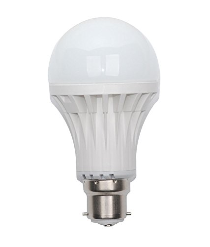 9W Bright White B22 LED Bulb (Set of 8)