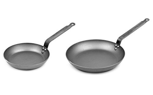 Mauviel Made In France M'steel Frying Pan, 11-Inch & 8-in Set (Frying Pan France compare prices)