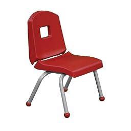 Creative Colors 14CHRB-TA-BM Split-Bucket Chair, Ball Glides, 14\