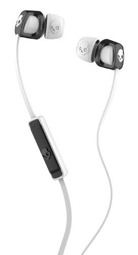 Skullcandy Smokin' Buds 2 with Mic1 EarBuds (Black/White)